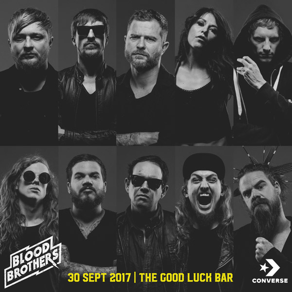 all artist square blood brothers