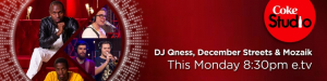 DJ QNESS / DECEMBER STREETS / MOZAIK - CAN YOU FEEL IT - COKE STUDIO,16 NOVEMBER 2015