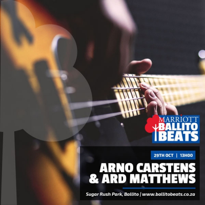 Arno Carstens and Ard Matthews Set to Rock Ballito