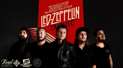#WhatsOn This Weekend: LED ZEPPELIN TRIBUTE SHOW | 5 November 2017