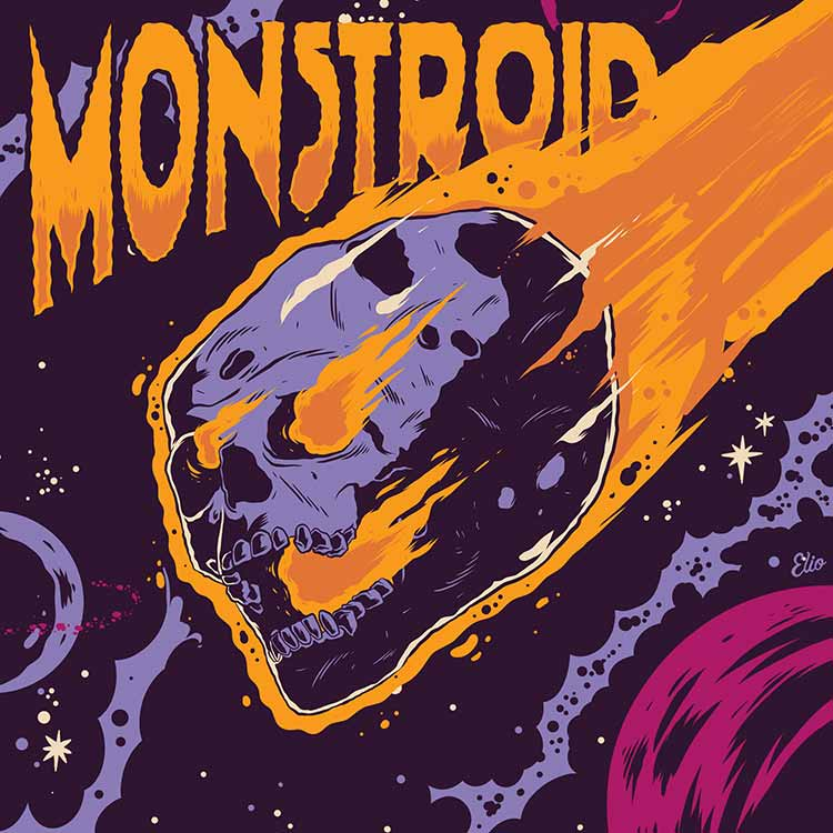 Album Cover monstroid