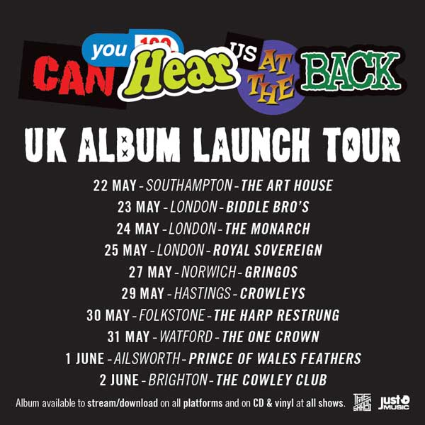 UK album launch tour3 update