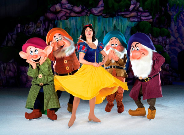 Credit Disney. DOI 18 SNOW WHITE And Dwarfs