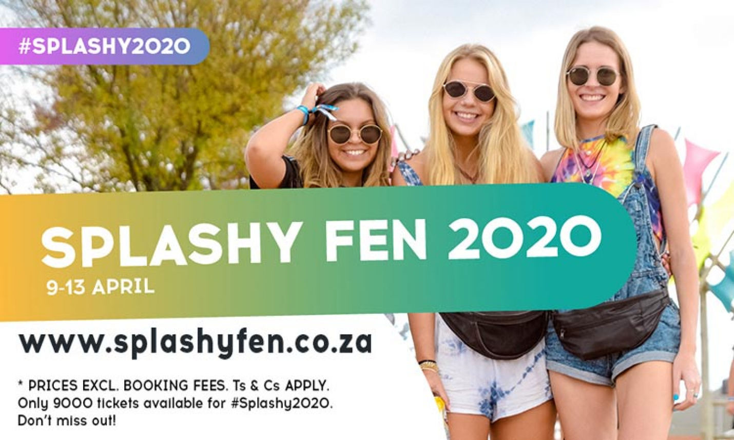 Tickets to Splashy Fen To Go on Sale Monday