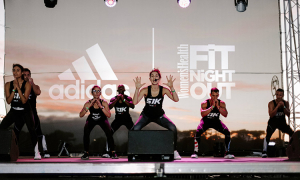 Women's Health's Fit Night Out at GrandWest in February 2020