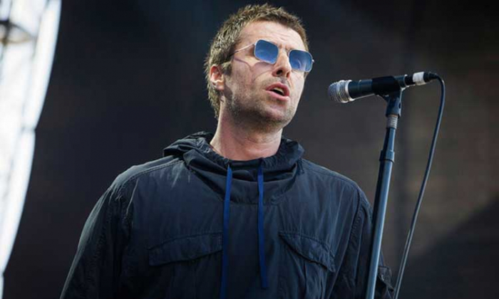 Liam Gallagher at Falls Festival on Jan. 7, 2018 in Fremantle, Australia.