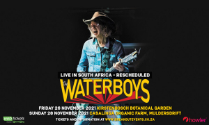 The Waterboys Tour of South Africa Postponed To November 2021