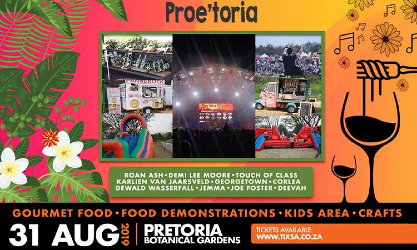 Experience Excellent Food and Wine at the 4th Proe'toria Festival