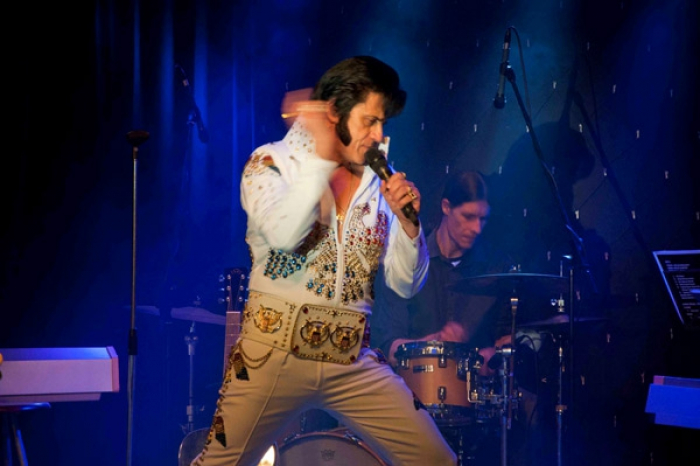 The Show takes us on a journey through the different era's of Elvis and Priscilla,
