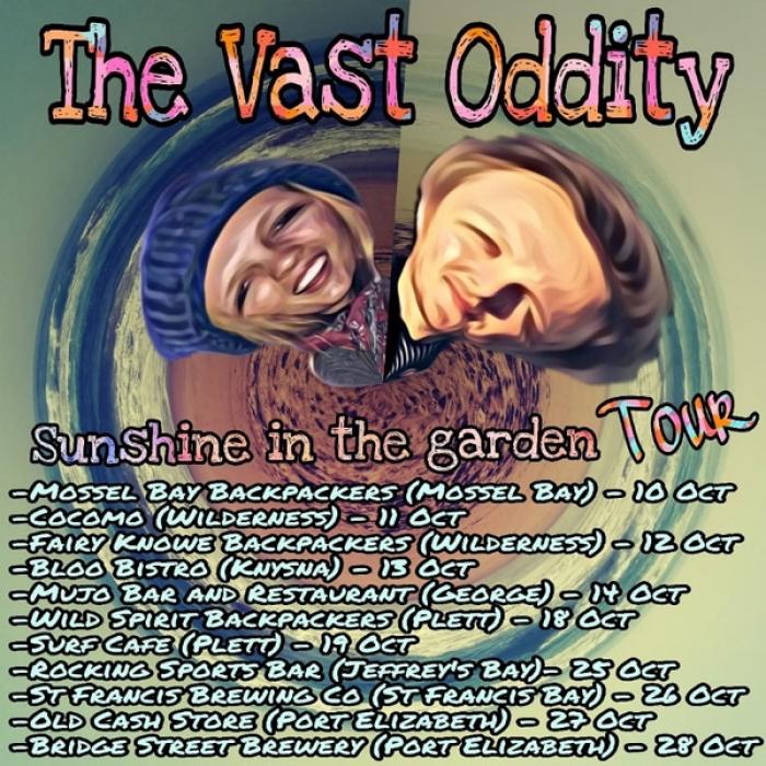 The Vast Oddity - Sunshine in the Garden Tour