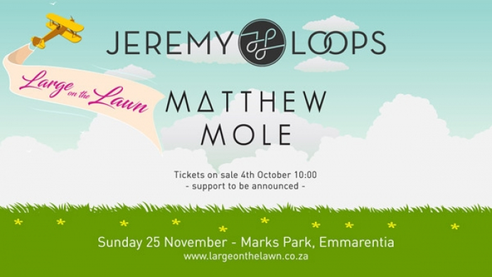 Large On The Lawn Presents Jeremy Loops And Matthew Mole