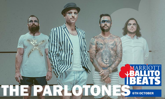 The Parlotones Headed for Marriott Ballito Beats