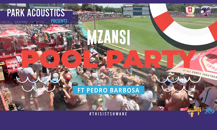 Park Acoustics Presents: Mzansi Pool Party ft Pedro Barbosa