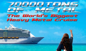 70000TONS OF METAL 2020: World Exclusive Live Premiere of Zak Stevens' ARCHON ANGEL
