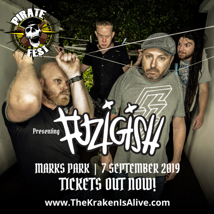 Local Legends FUZIGISH To Open For ALESTORM