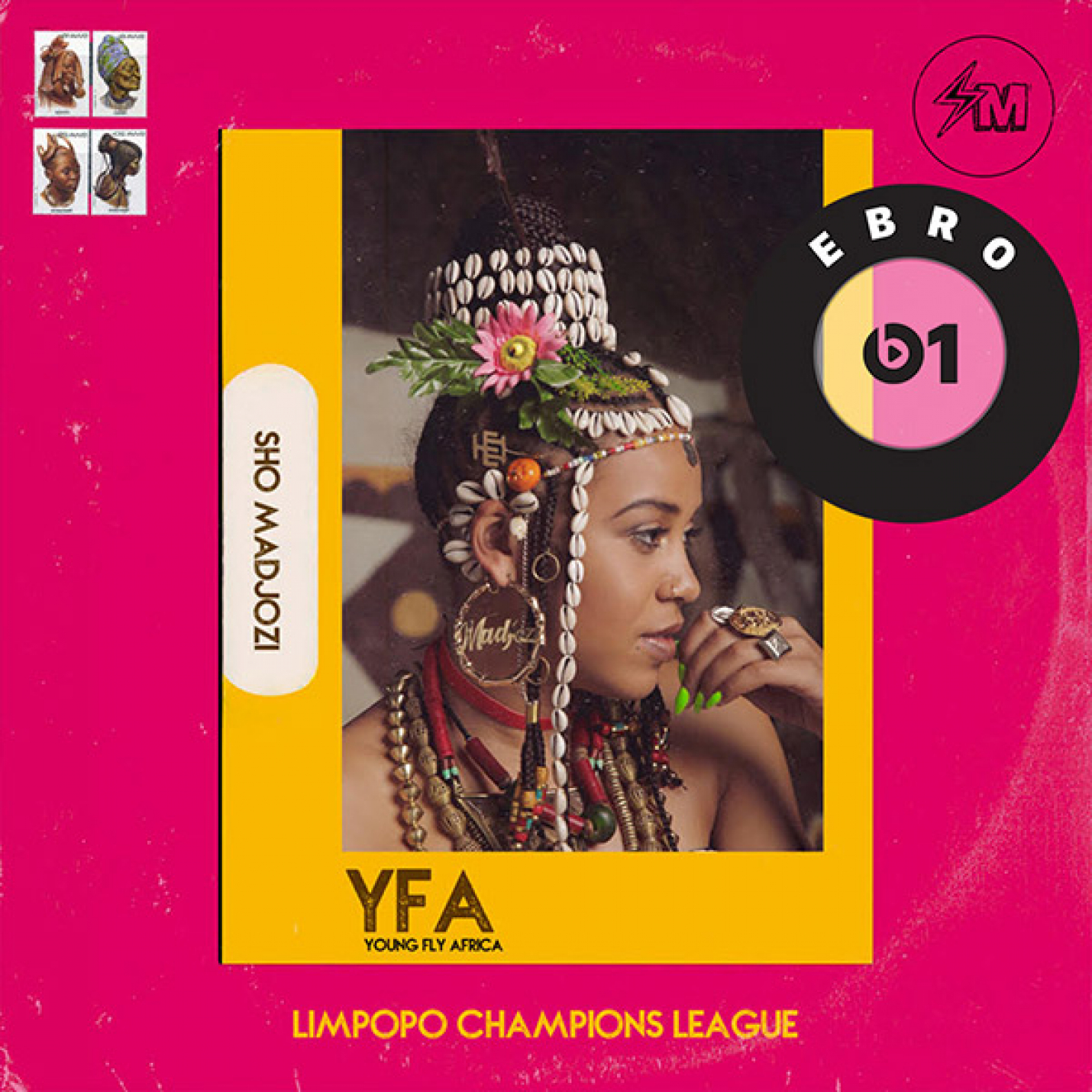 Ebro Darden features Sho Madjozi on Beats 1 Radio