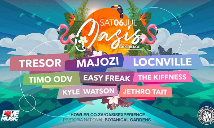 Oasis Experience Goes Big This July With Star Studded Lineup