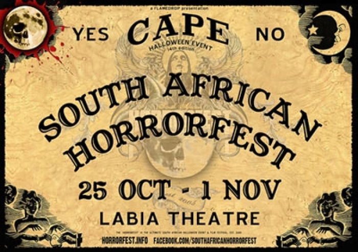 14th South African HORRORFEST Film Festival & Halloween event!