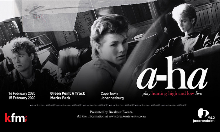 A-HA: Supporting Acts Announced