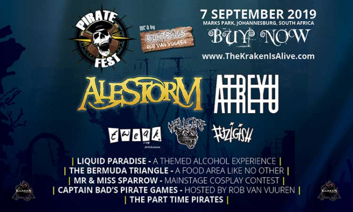 Pirate Fest 2019: Win Tickets and What You Need To Know