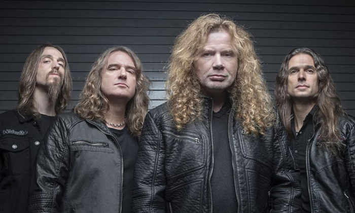 Dave Mustaine Has Completed His Treatment For Throat Cancer
