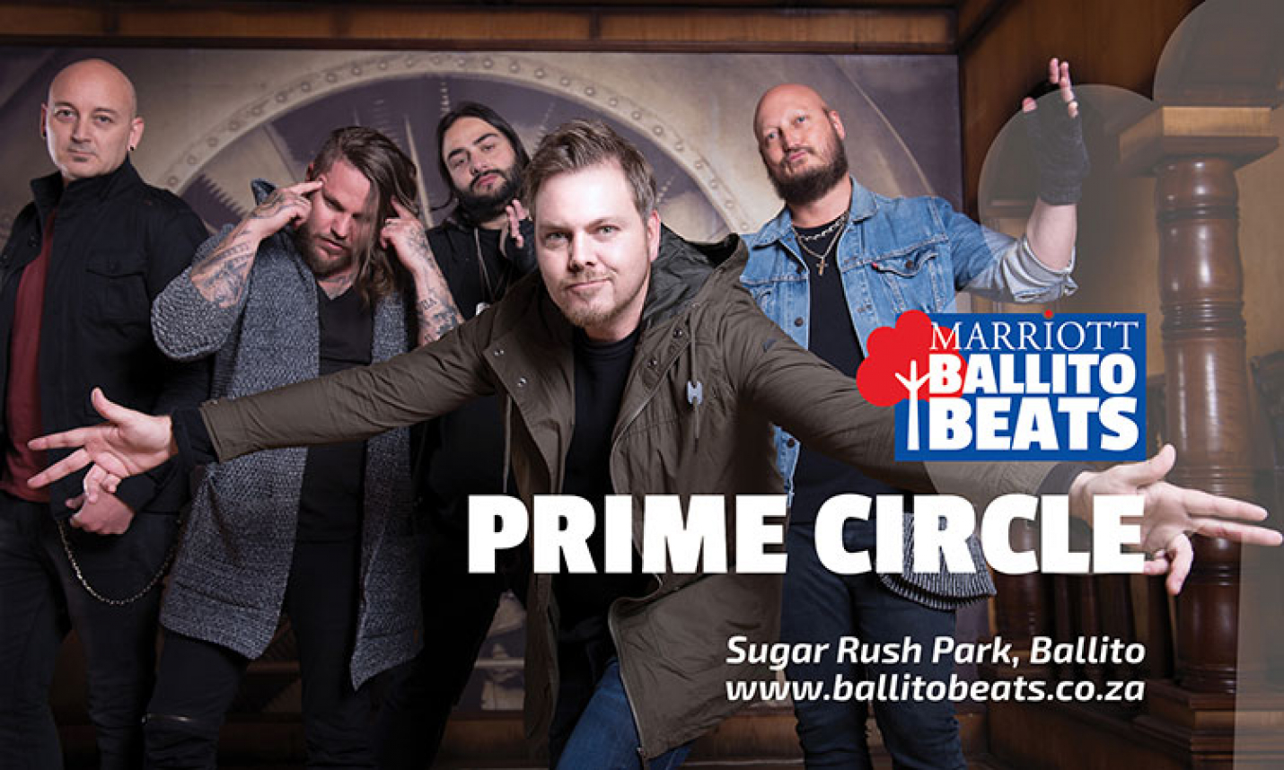 GET READY TO ROCK, BALLITO. PRIME CIRCLE IS COMING TO TOWN!