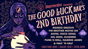 The Good Luck Bar Turns TWO!