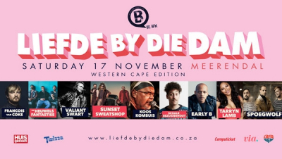 Liefde by die Dam Concert at Meerendal on 17 November 2018