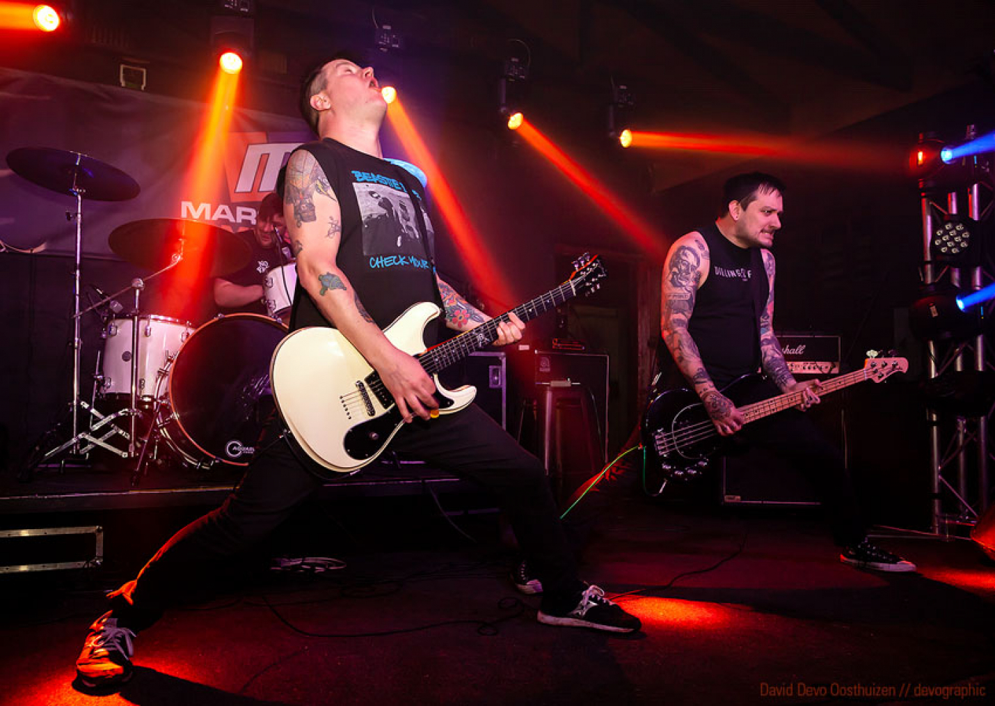 Teenage Bottlerocket tore up the stage at Sundowners